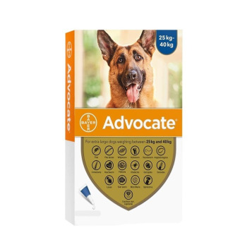 Advocate Pipeta Antipulga Para perros de 25 a 40KG