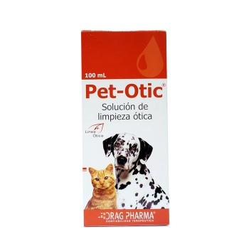 Pet-Otic Solucion Ótica para Perros y Gatos