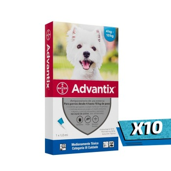 10x Pipeta Advantix de 4 a 10 KG