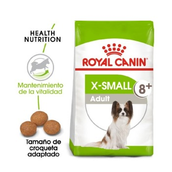 Royal Canin X-Small Adulto +8