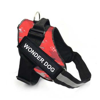 Arnes Pechera Police K9 Color Rosado
