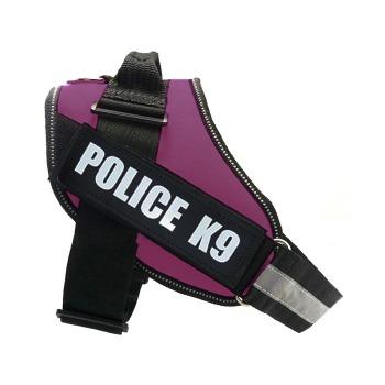 Arnes Pechera Police K9 Color Morado
