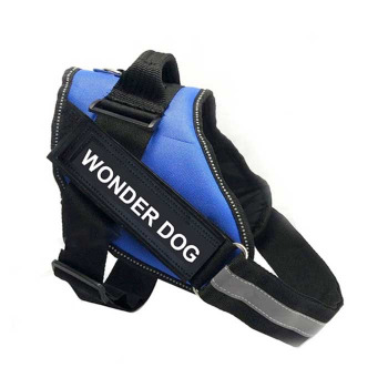 Arnes Pechera Police K9 Color Azul