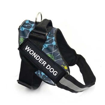 Arnes Pechera Police K9 Color Naranja