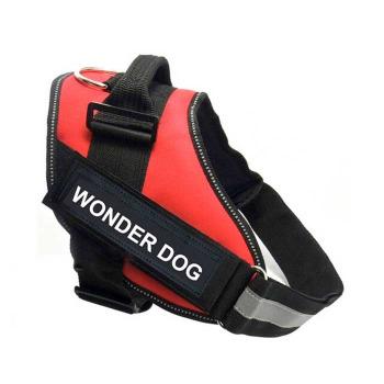 Arnes Pechera Police K9 Color Rojo