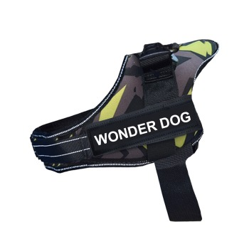 Arnes Wonder Dog Pro Camuflaje Verde