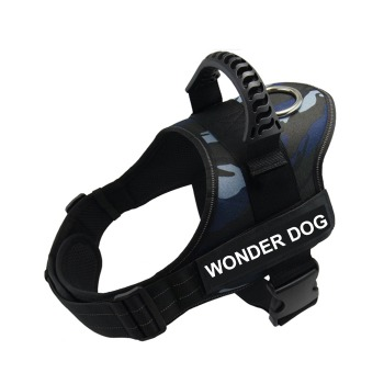 Arnes Wonder Dog Pro Camuflaje Azul Marino