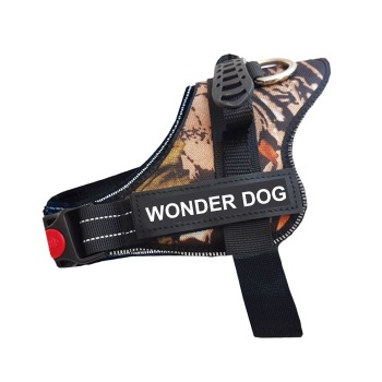 Arnes Wonder Dog Pro Camuflaje Cafe