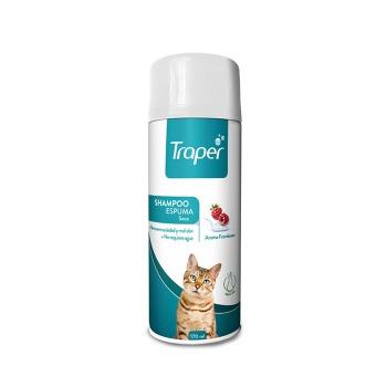 Traper Shampoo Espuma Seca para Gato