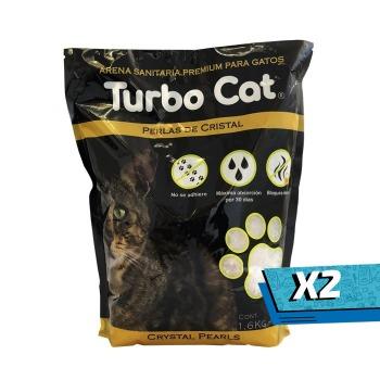 2x Top K9 Arena Turbo Cat Cristal Perlas Sanitarias