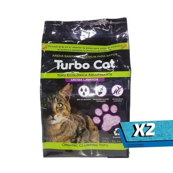 2x Top K9 Turbo Cat Tofu Lavanda