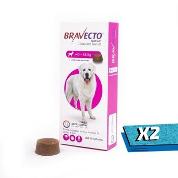 2x Bravecto 40 - 56 KG