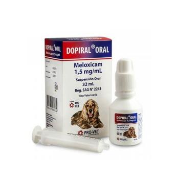 Dopiral Oral antiinflamatorio para Perro