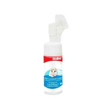 Bioline Espuma Limpia Patas para Perros