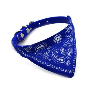 Collar Modelo Cowboy Azul para Perro y Gato