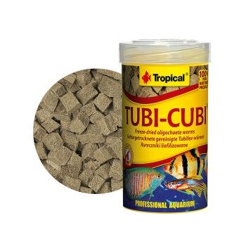 Tropical Alimento Tubi Cubi tubifex liofilizados