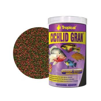 Tropical Alimento Granulos Premium Para Ciclidos Cichlid Gran