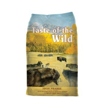 Taste of the Wild High Prairie para perros sin cereales