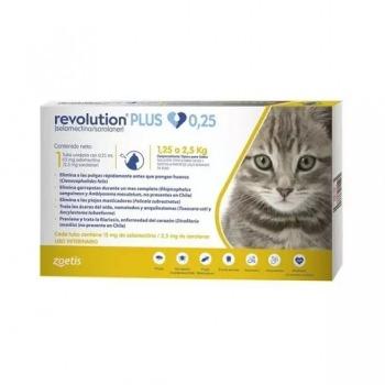 Revolution Plus 0.25 ML para Gatos hasta 2.5KG
