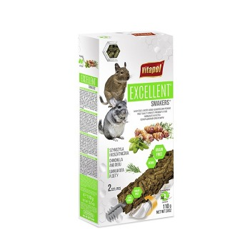 Vitapol Excellent Snack para Chinchillas y Degus