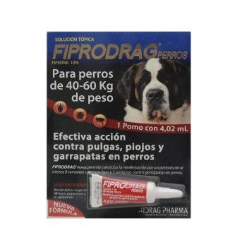Pipeta Antiparasitaria Fiprodrag perros 40 a 60 kg