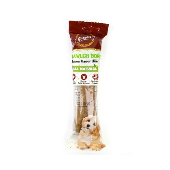 Gnawlers Snack hueso XL Bacon 265gr