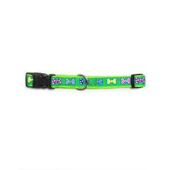 Wonder Dog Collar de Huesitos Verdes