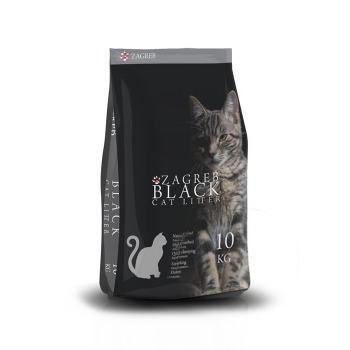 Arena Sanitaria Premium Zagreb Black Cat Litter