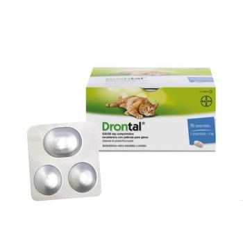 Drontal Antiparasitario interno para Gatos 2 Comprimidos Sachet