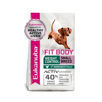 Eukanuba Weight Control Fit Body Small Breed