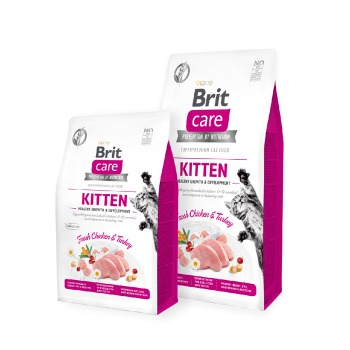 Brit Care Cat Grain Free Kitten Crecimiento Saludables