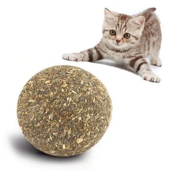 Bioline Juguete Bola de Catnip prensada