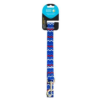 Wonder Dog Trailla Diseño Mini Zigzag Azul