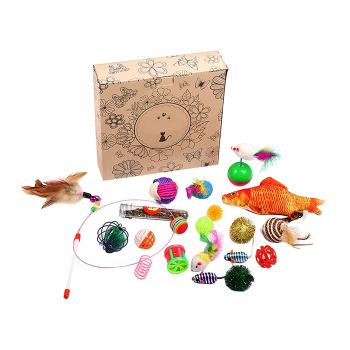 Wonder Cat Kit para gatos 20 juguetes