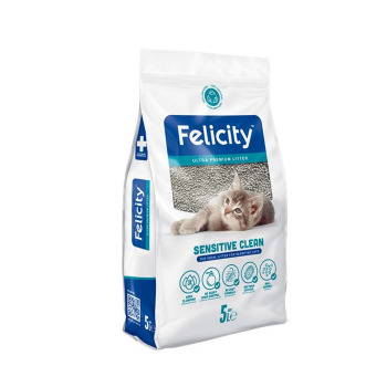 Felicity Arena para gatos Felicity Sensitive Clean 4 KG/5L