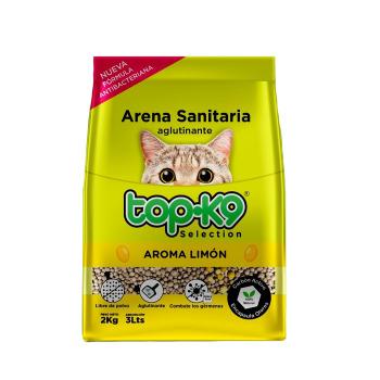 Top k9 Arena Aglutinante 2kg Aroma Limón