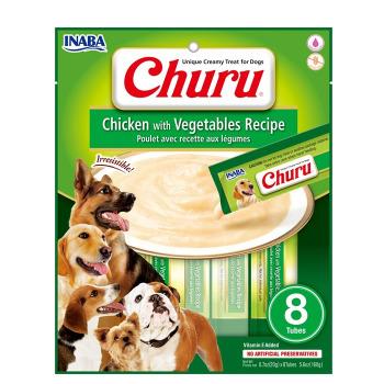 Dog Churu Pollo con Vegetales