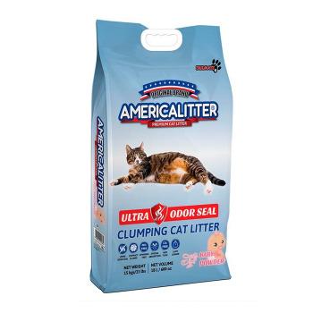 Arena Sanitaria Ultra Odor Seal Baby Powder