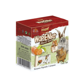 Vitapol Mineral Block para Roedores y Conejos