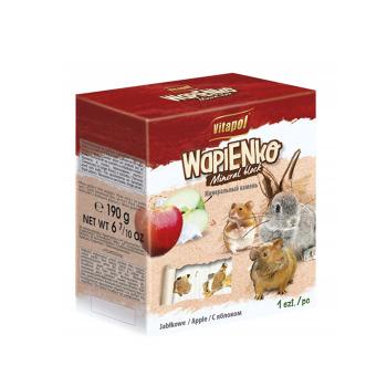 Vitapol Mineral Block Manzana caliza XL para roedores y conejos