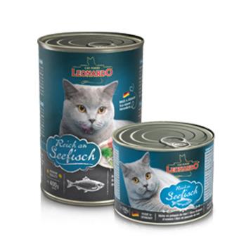 Leonardo Latas Quality Gatos Pescado