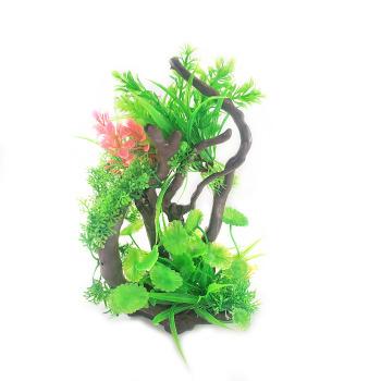 Planta 30x18 cm Adorno para Acuarios