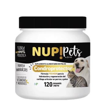 NUP! Pets Pre & Probióticos para perros y gatos Condroprotector