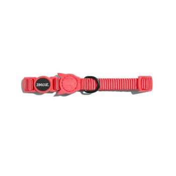 ZeeCat Collar Neon Coral