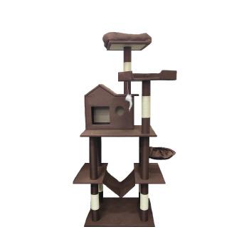 Rascador Torre con doble hamaca Casa