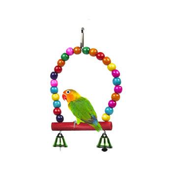 Columpio con campana para Aves