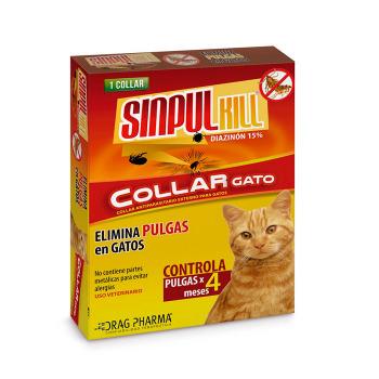 SinpulKill Collar para Gatos