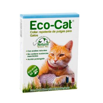 Collar Eco Cat Antipulgas Para Gatos