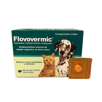 Flovovermic Antiparasitario Interno para Perros y Gatos 1 Comprimido Oral