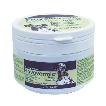 FlovoVermic Antiparasitario Interno para Perros de Raza Grande - Comprimido Oral